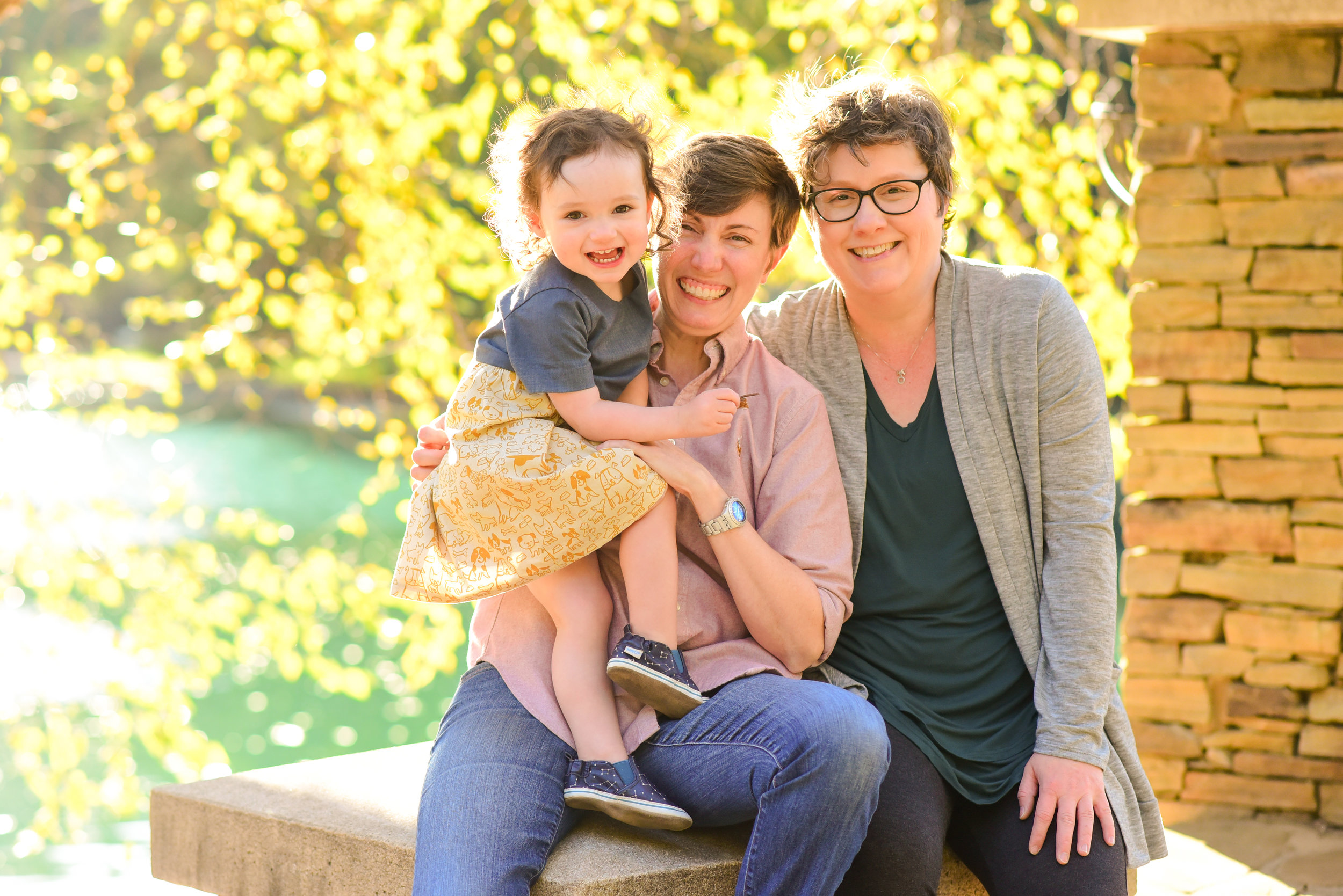 LGBTQ Family of 3