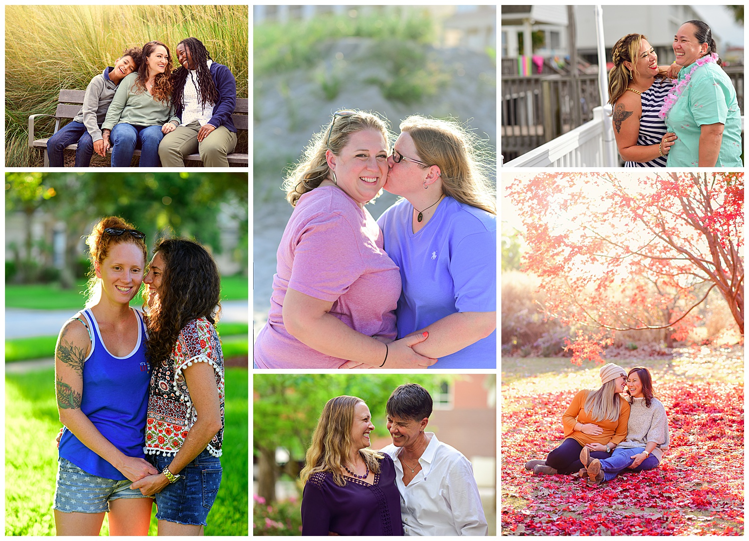 LGBTQ couple portraits