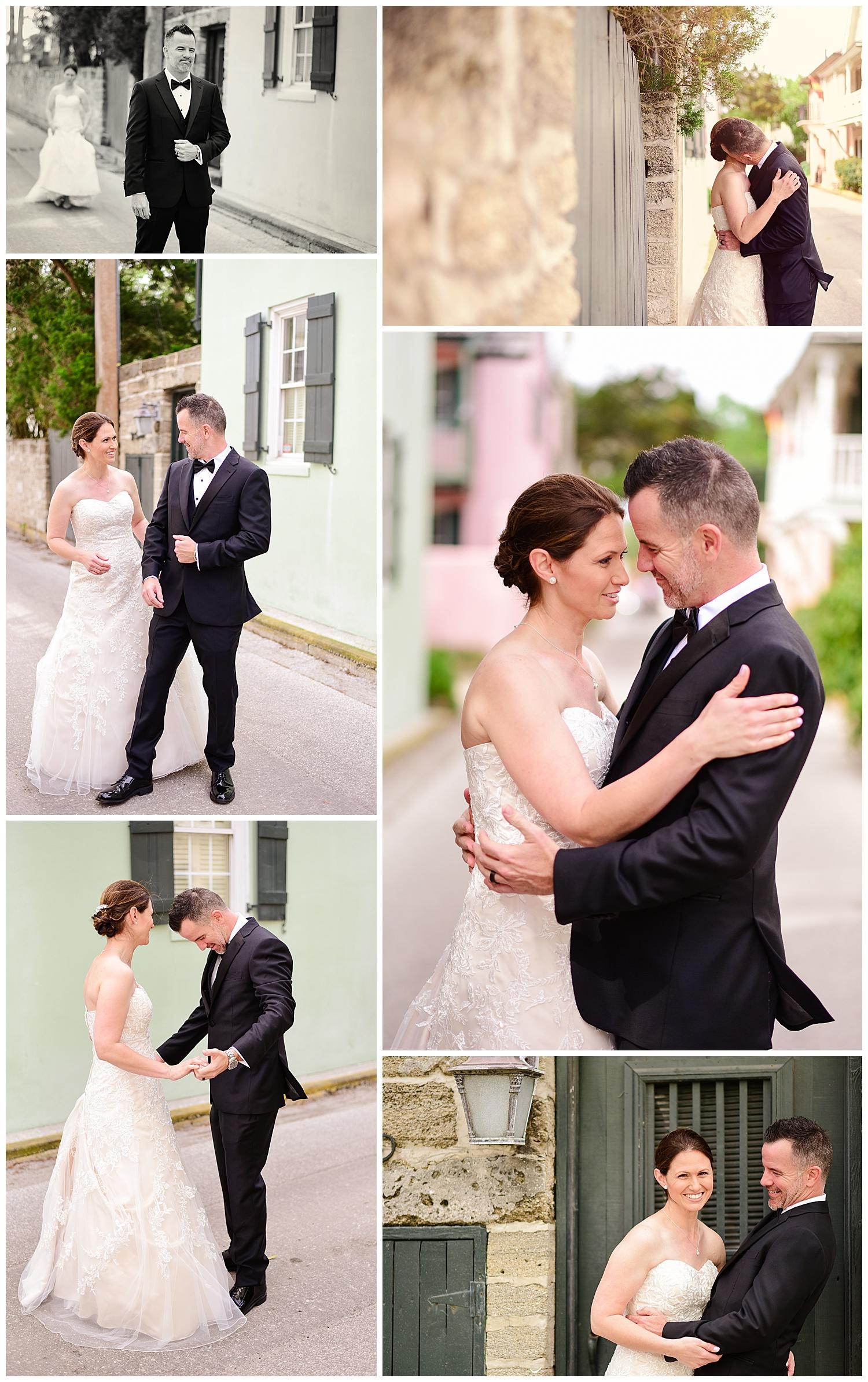 Downtown Saint Augustine Wedding
