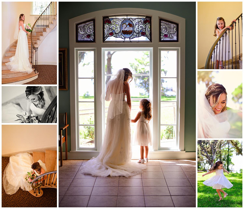 Marywood Retreat Center Wedding Bride