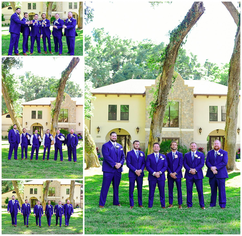 Marywood Retreat Center Wedding Groomsmen
