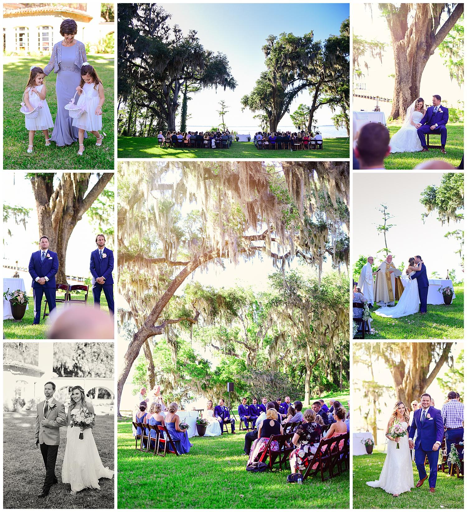 Marywood Retreat Center Wedding Ceremony