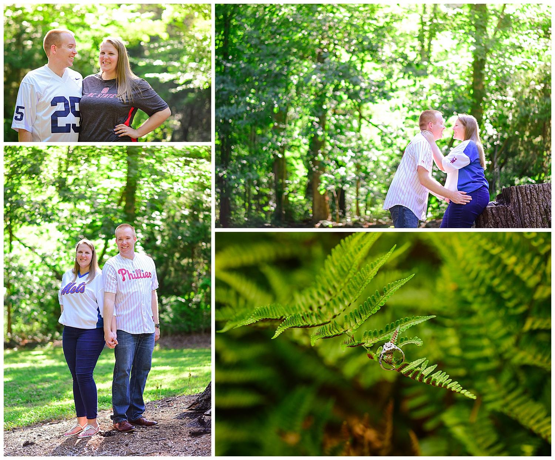 Engagement photos at Jetton Park