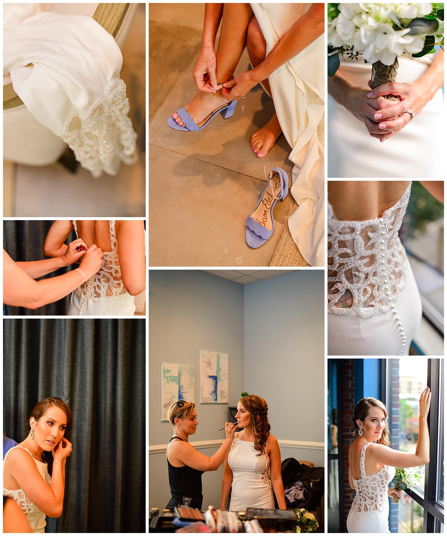 Vidrio Raleigh Wedding Bridal Suite