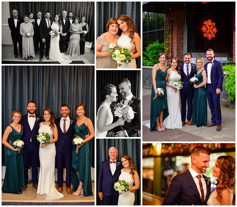 Vidrio Raleigh Wedding Party