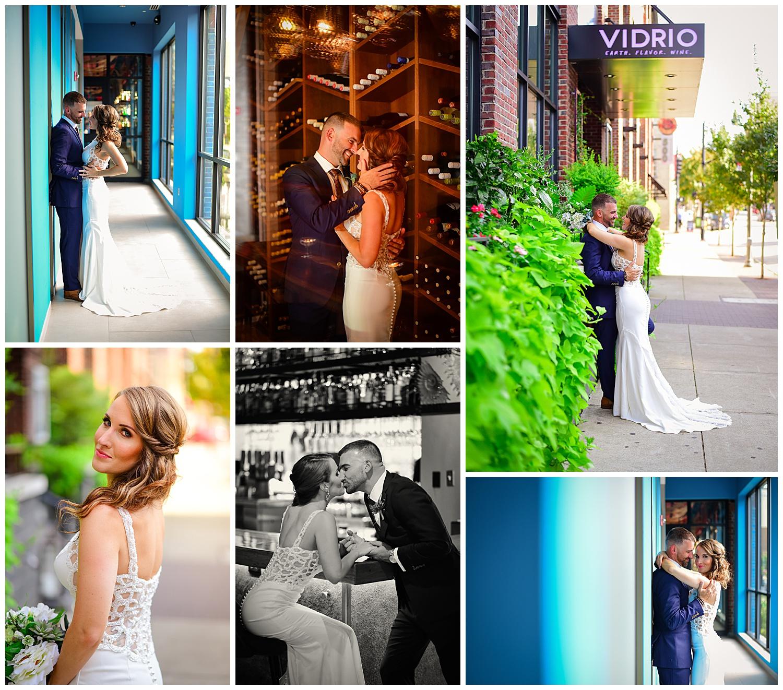 Vidrio Raleigh Wedding Couple Photos