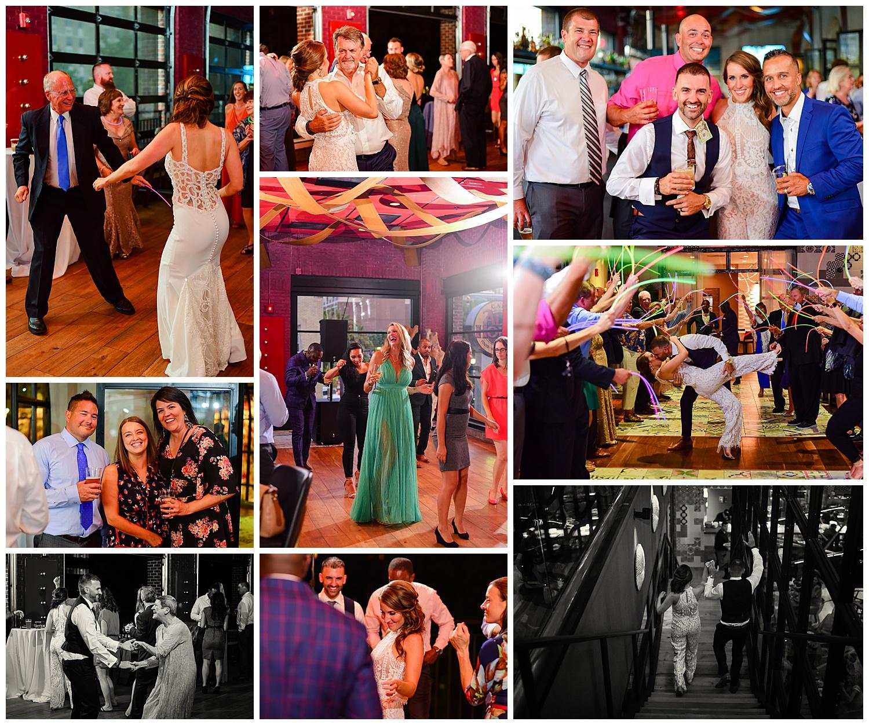 Vidrio Raleigh Wedding Reception