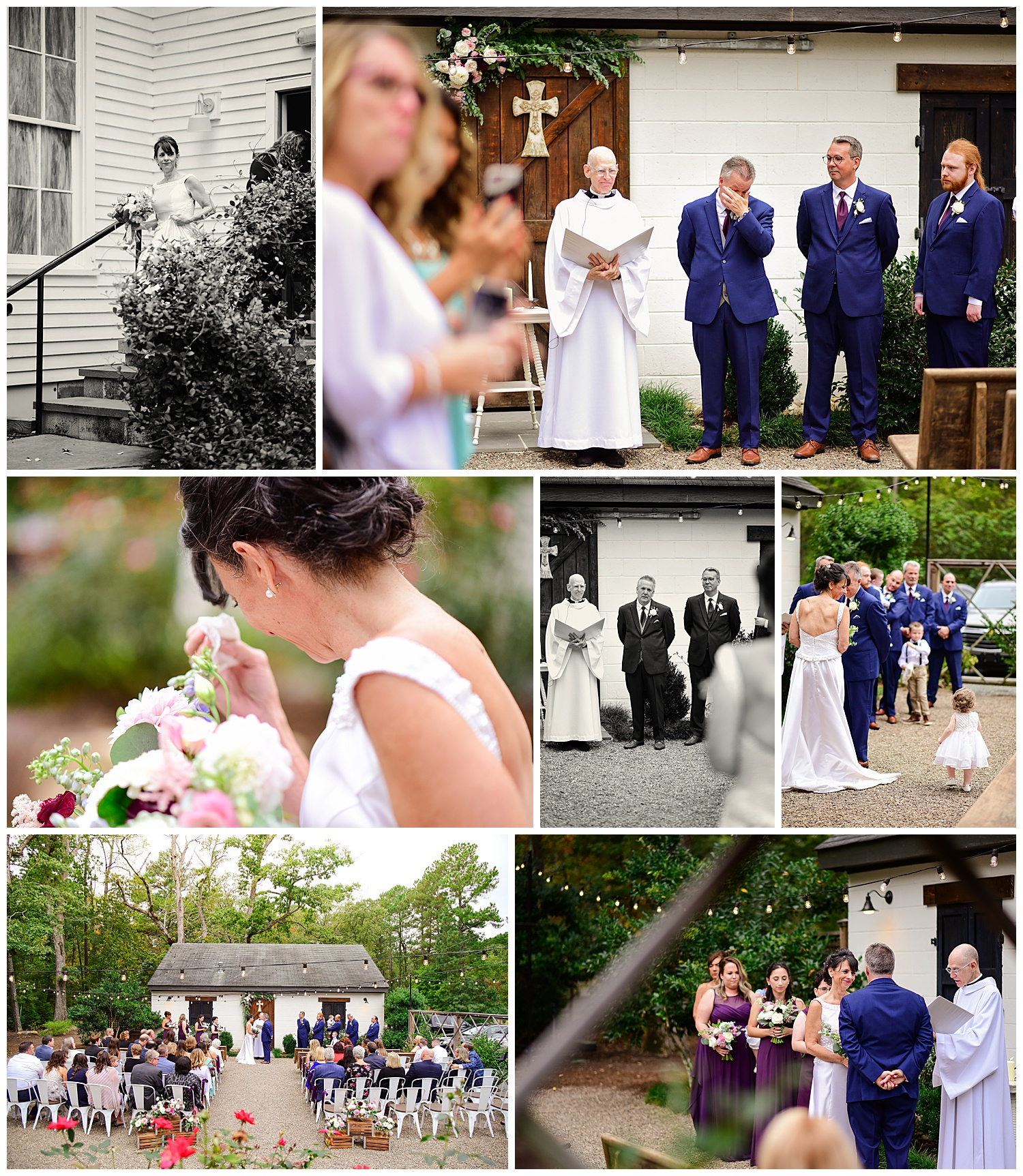 Wedding at the Parlour at Mann's Chapel
