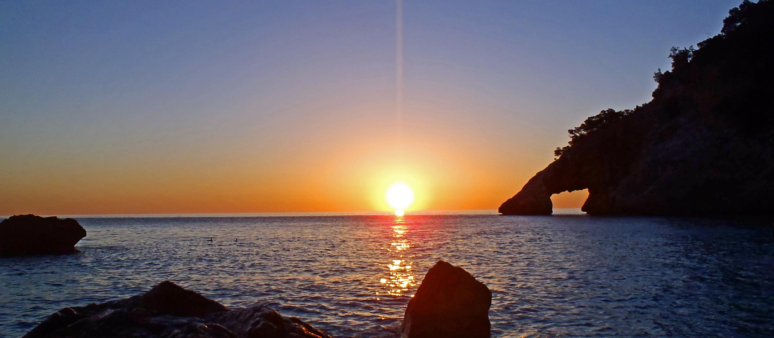 Sunrise at Cala Goloritzè