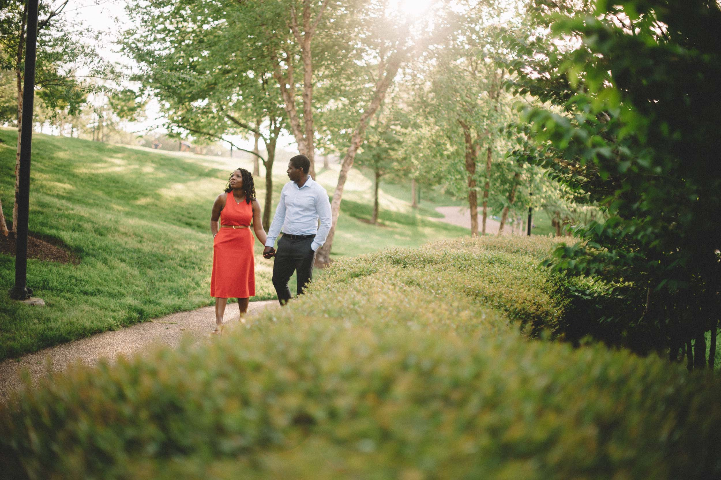 Engagement Session at Brown's Island