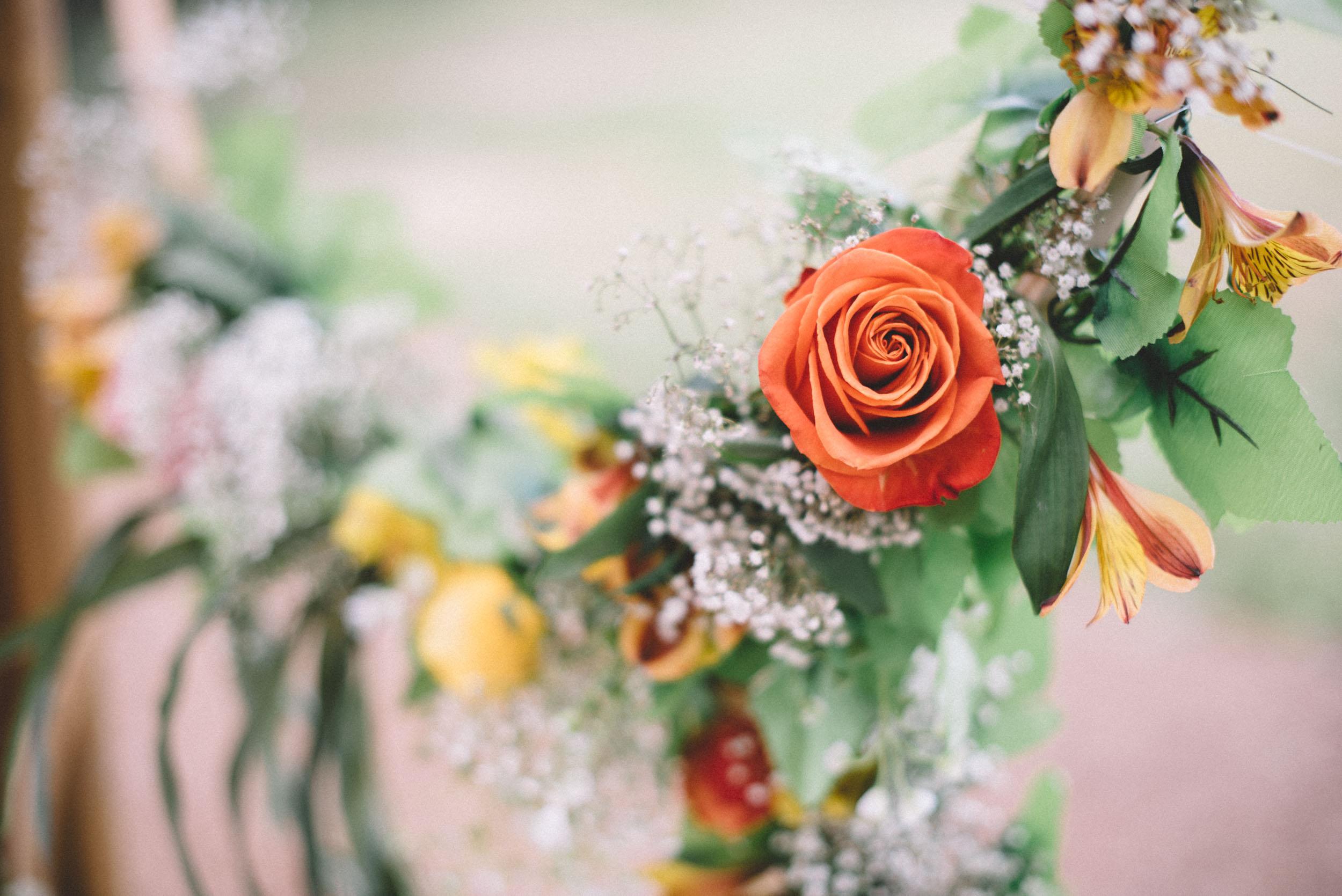 Wedding details at Shenandoah Woods