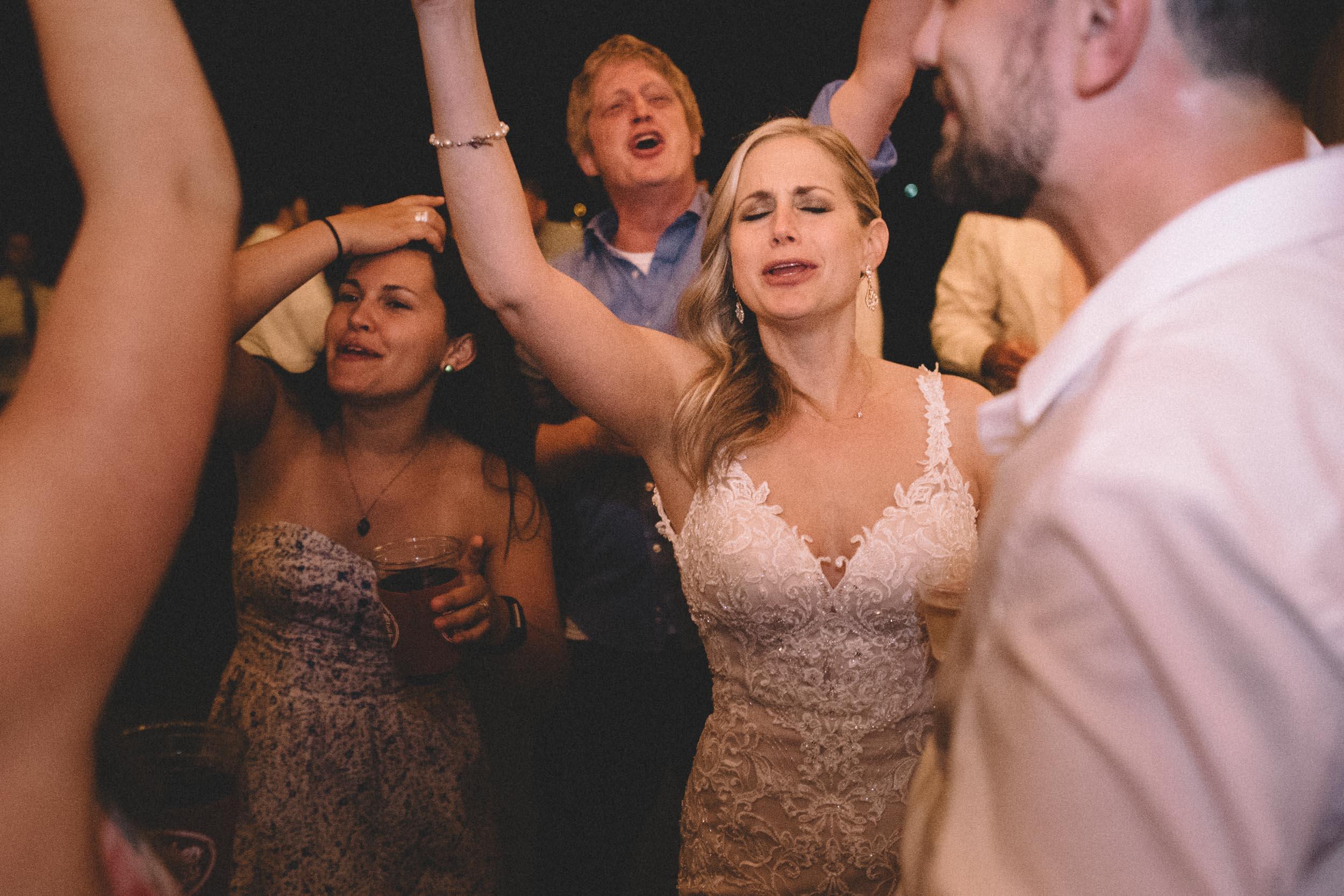Shenandoah Woods wedding reception