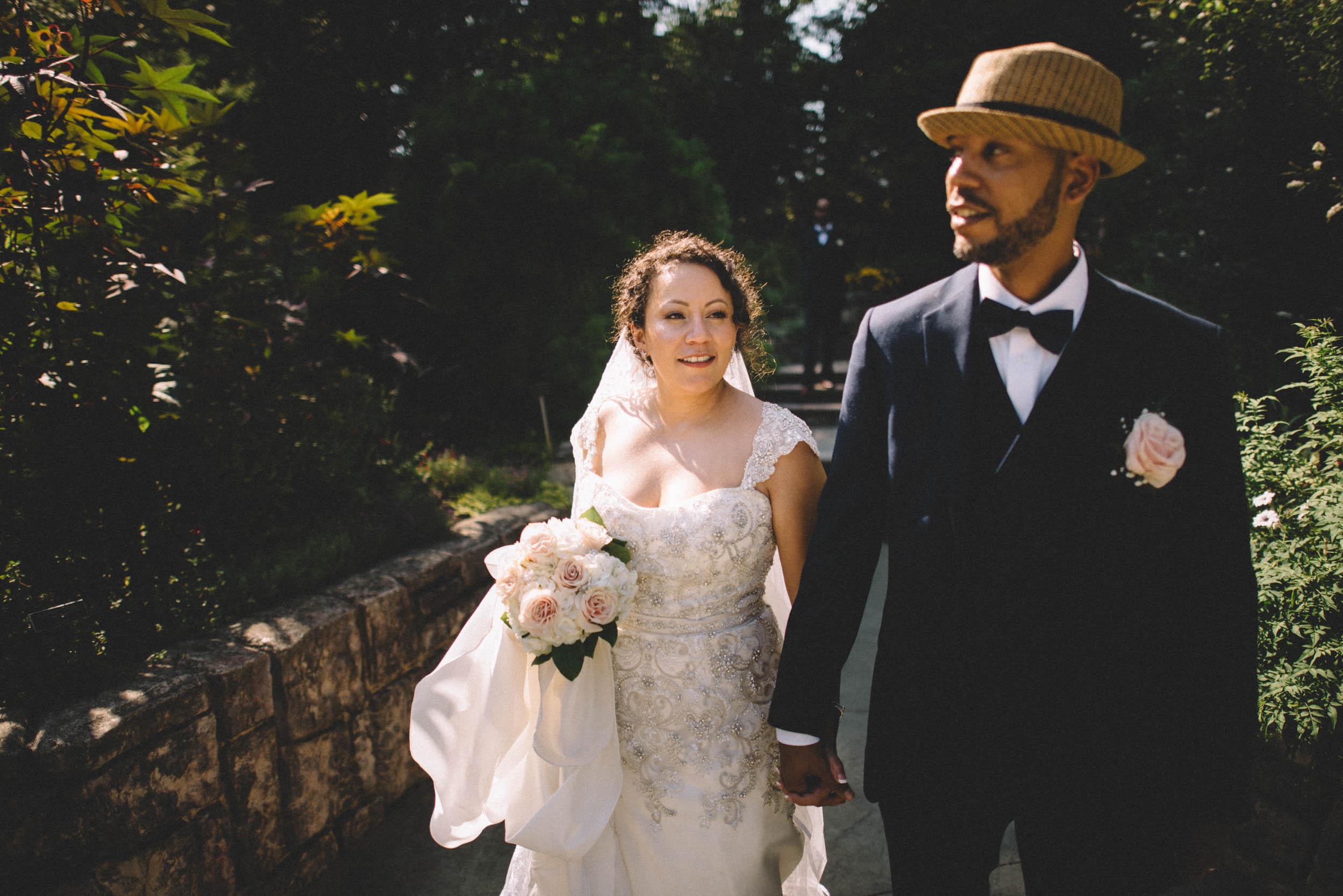 Brookside Gardens Couple