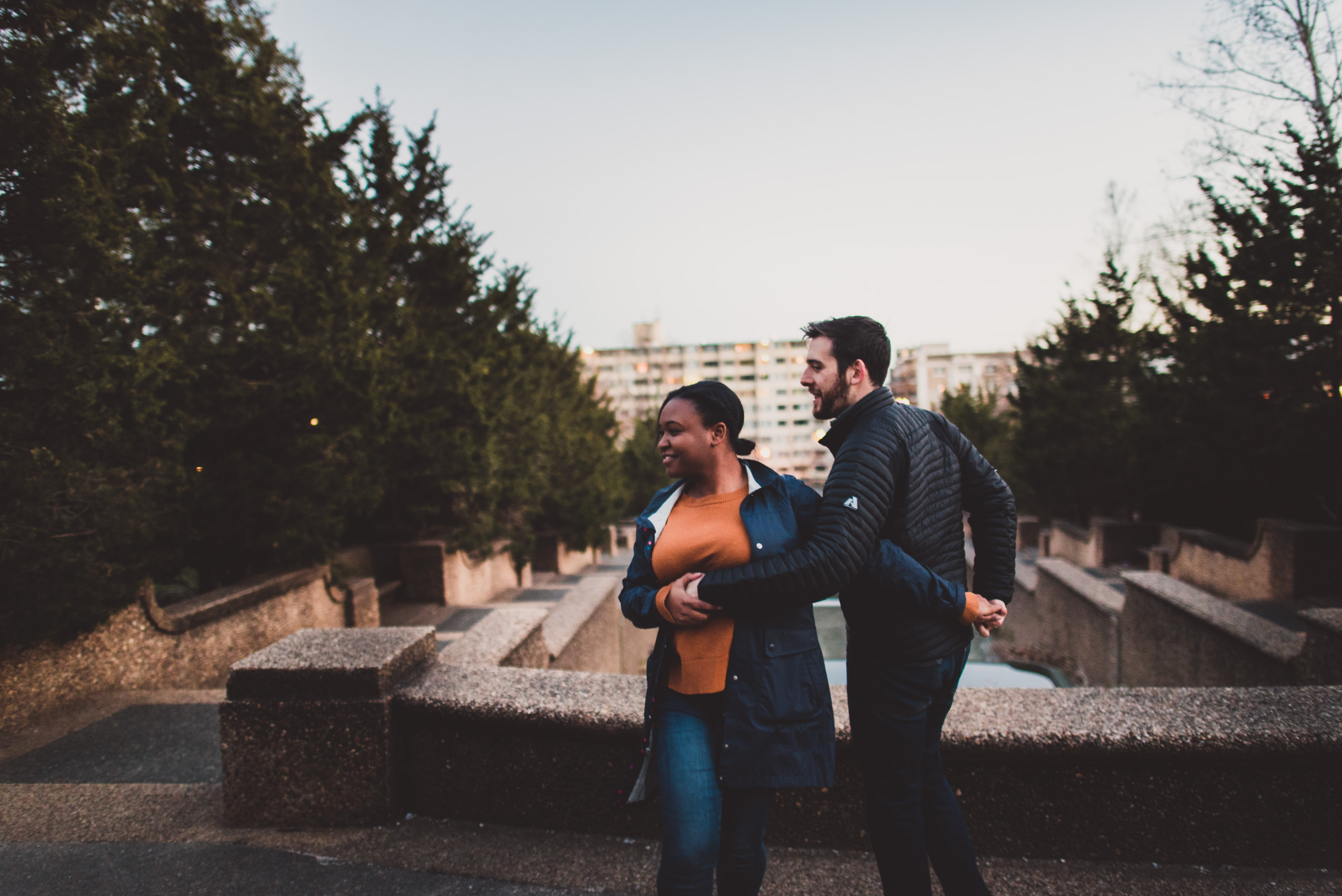 Meridian Hill Park Engagement Session