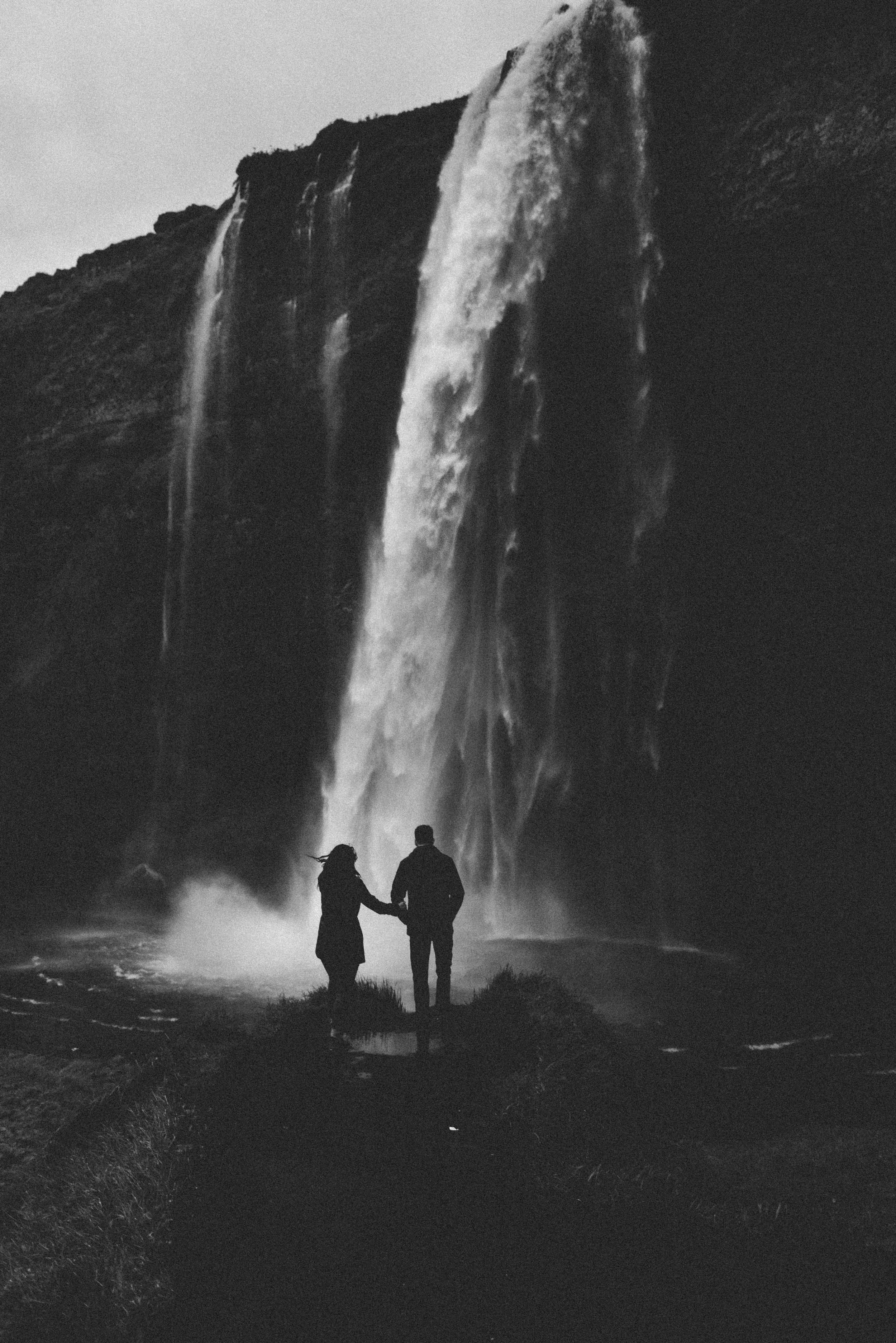 Seljalandsfoss, Iceland Engagement Session