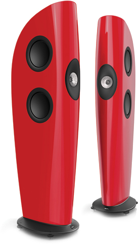 KEF Blade Two in racing red