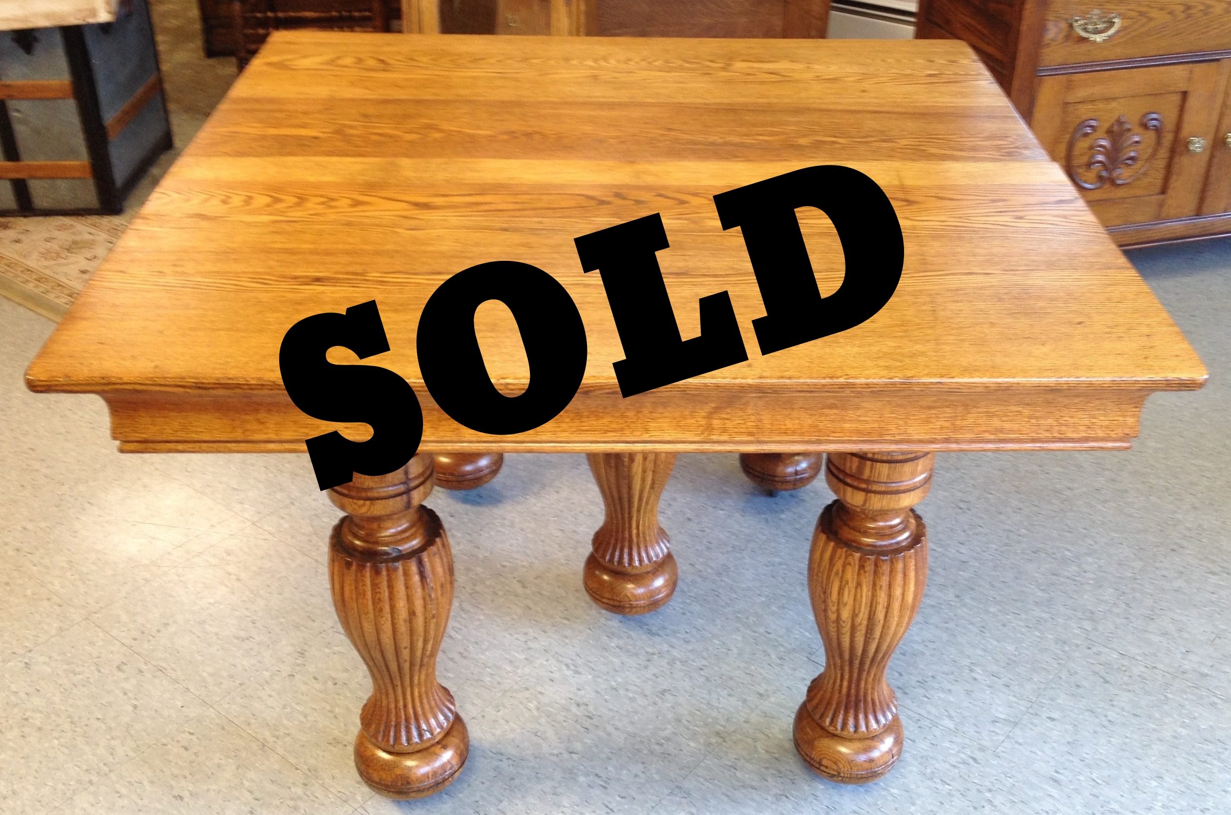 44 In. Square Table