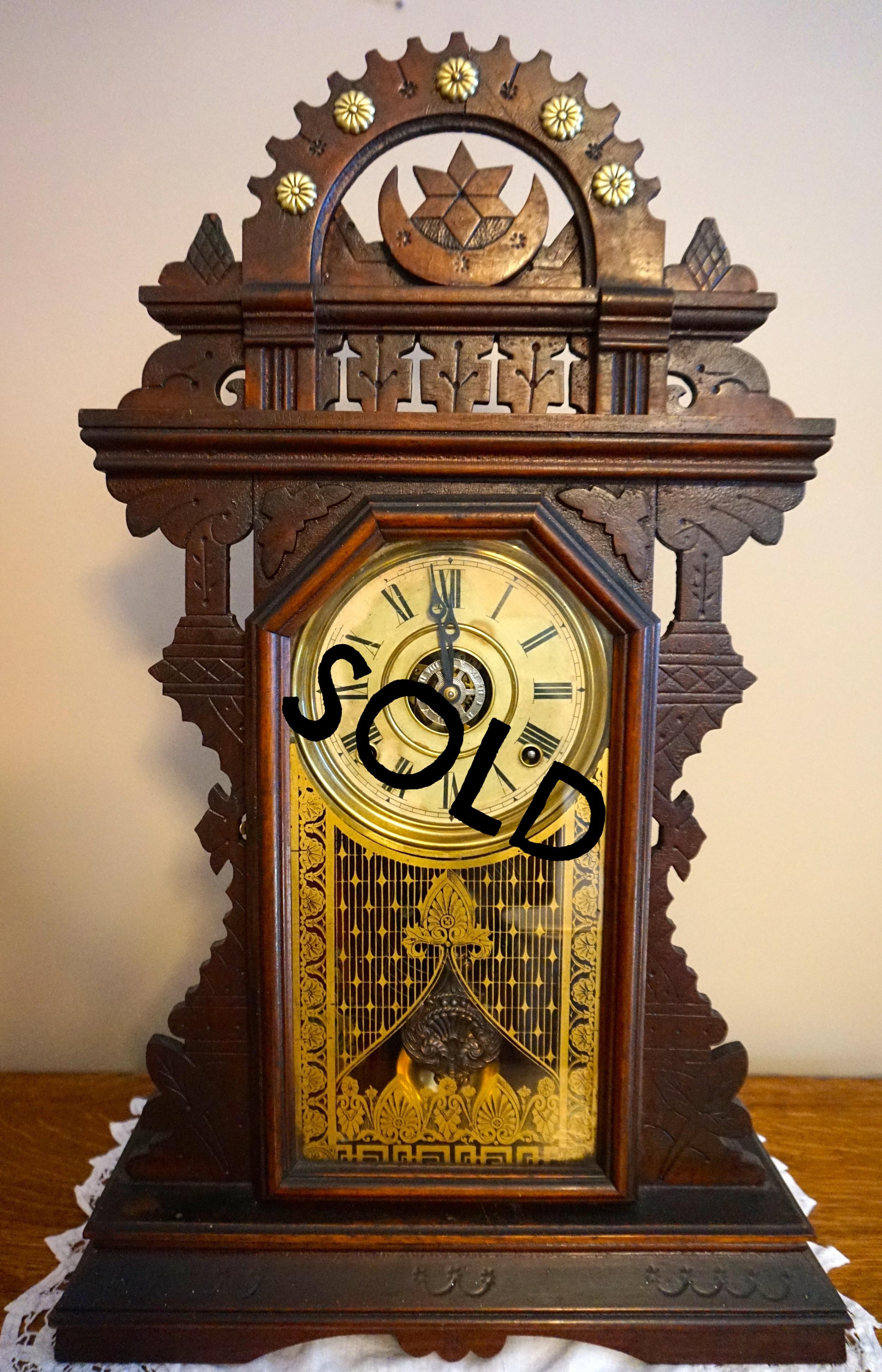 E. Ingraham Shelf Clock