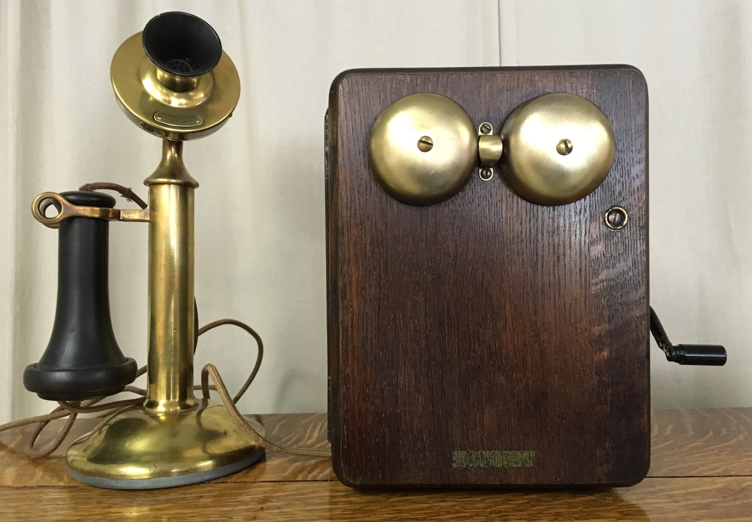 Brass Phone & Generator