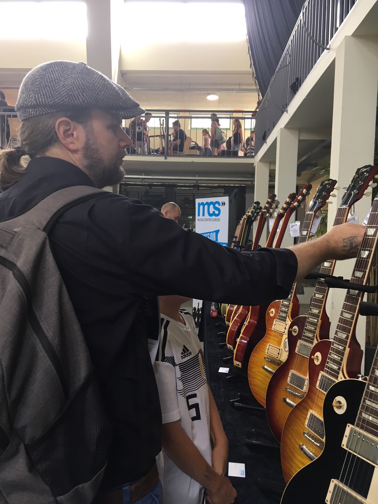 Auch andere Gitarren konnten entzücken.