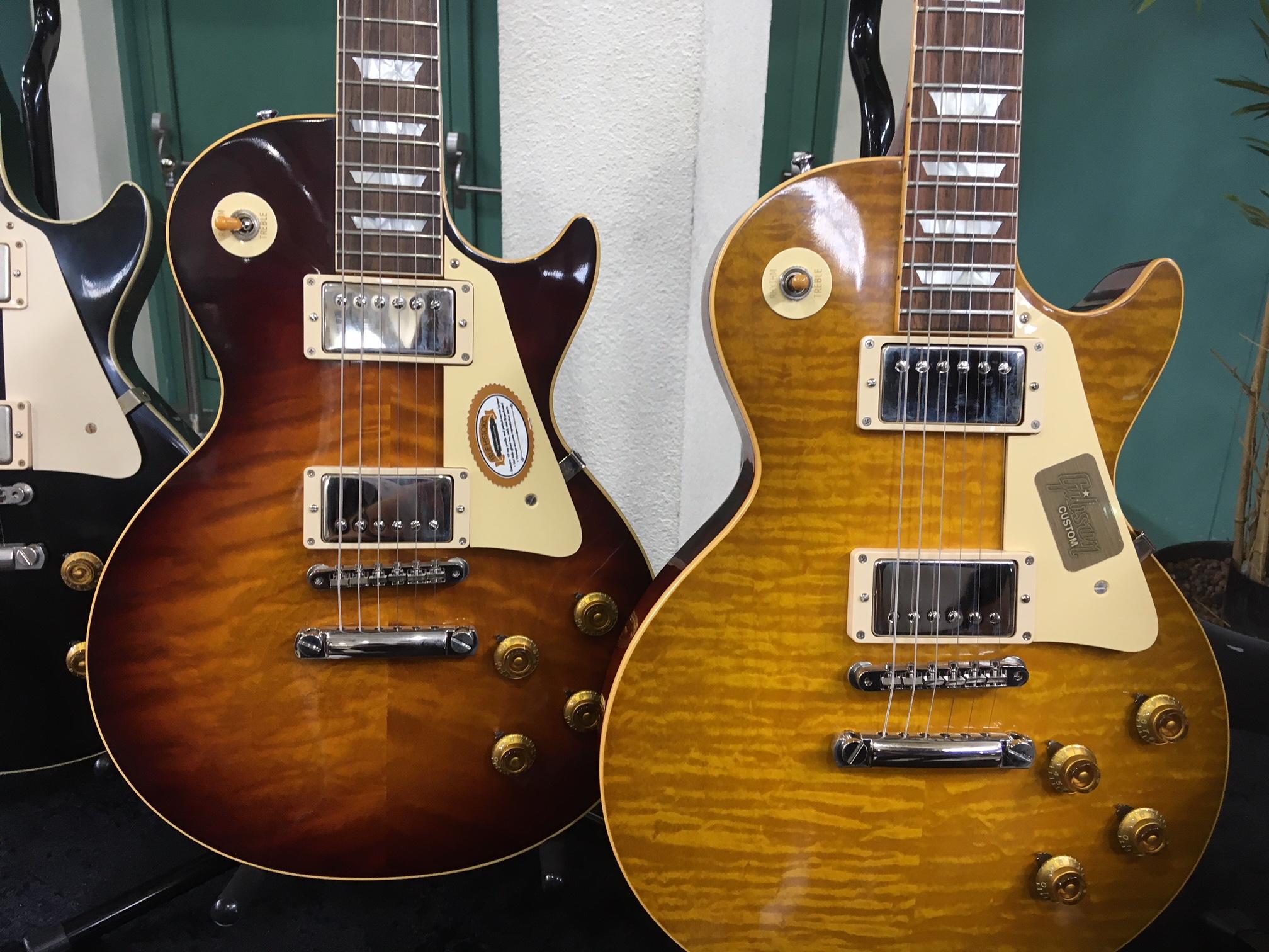 Gibson's Custom Shop Gitarren sind immer wieder eine Augenweide!