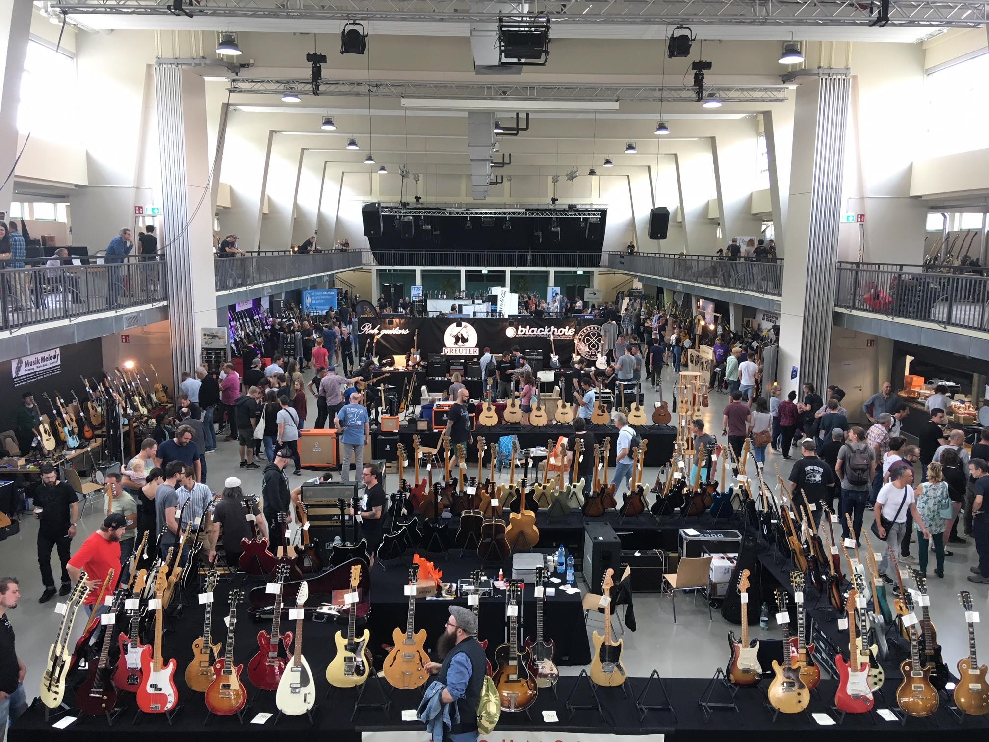 Das Guitarfest war gut besucht, aber nie unangenehm voll.