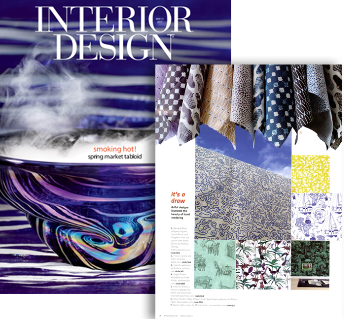 INTERIOR DESIGN MAGAZINE SPRING MARKET TABLOID 2017