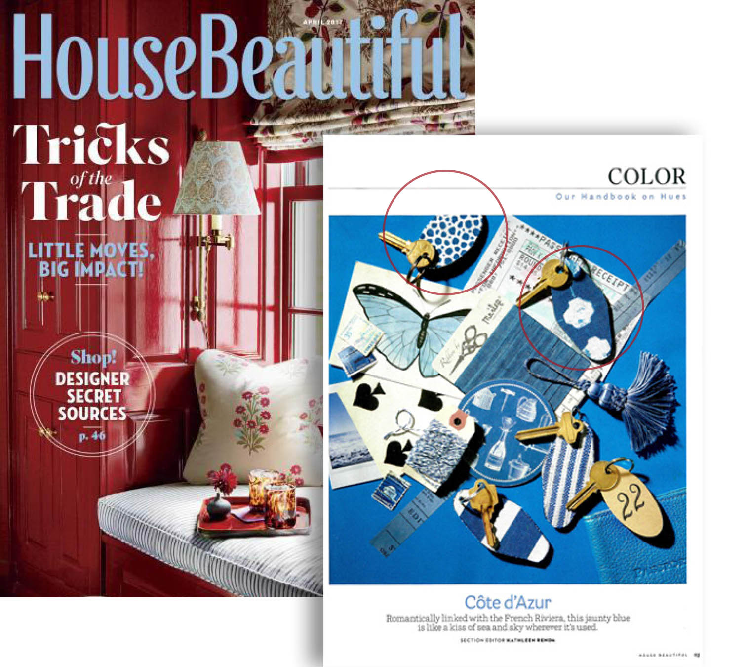 HOUSE BEAUTIFUL APRIL 2017
