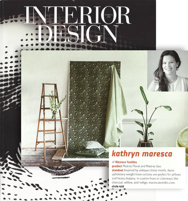 INTERIOR DESIGN MAGAZINE FALL MARKET TABLOID 2016