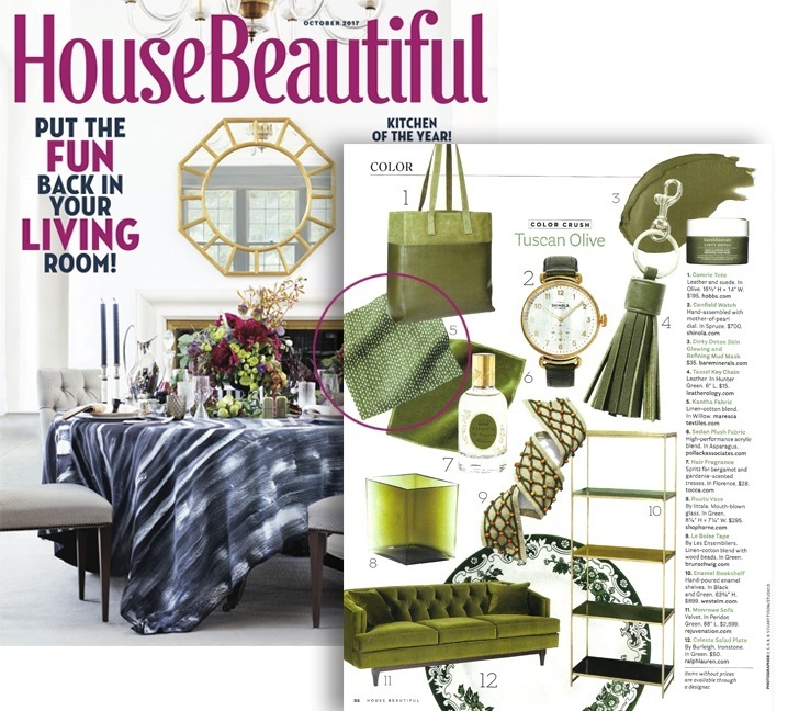 HOUSE BEAUTIFUL OCTOBER 2017