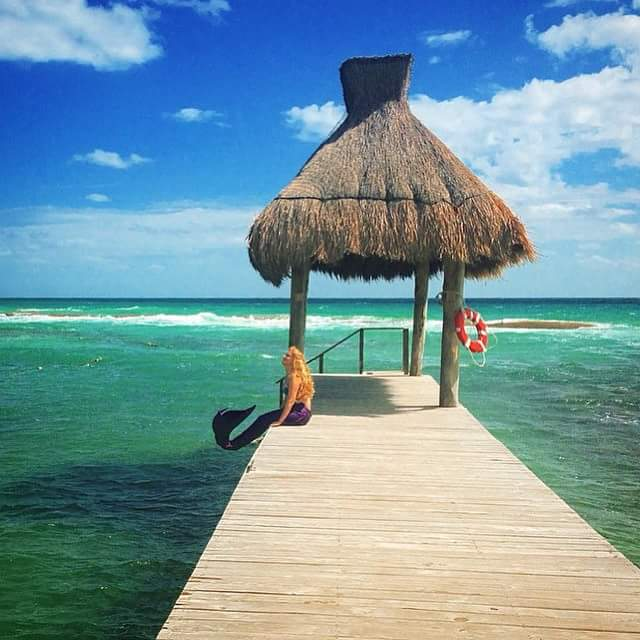 Riviera Maya, Mexico - A Mermaid spotting...
