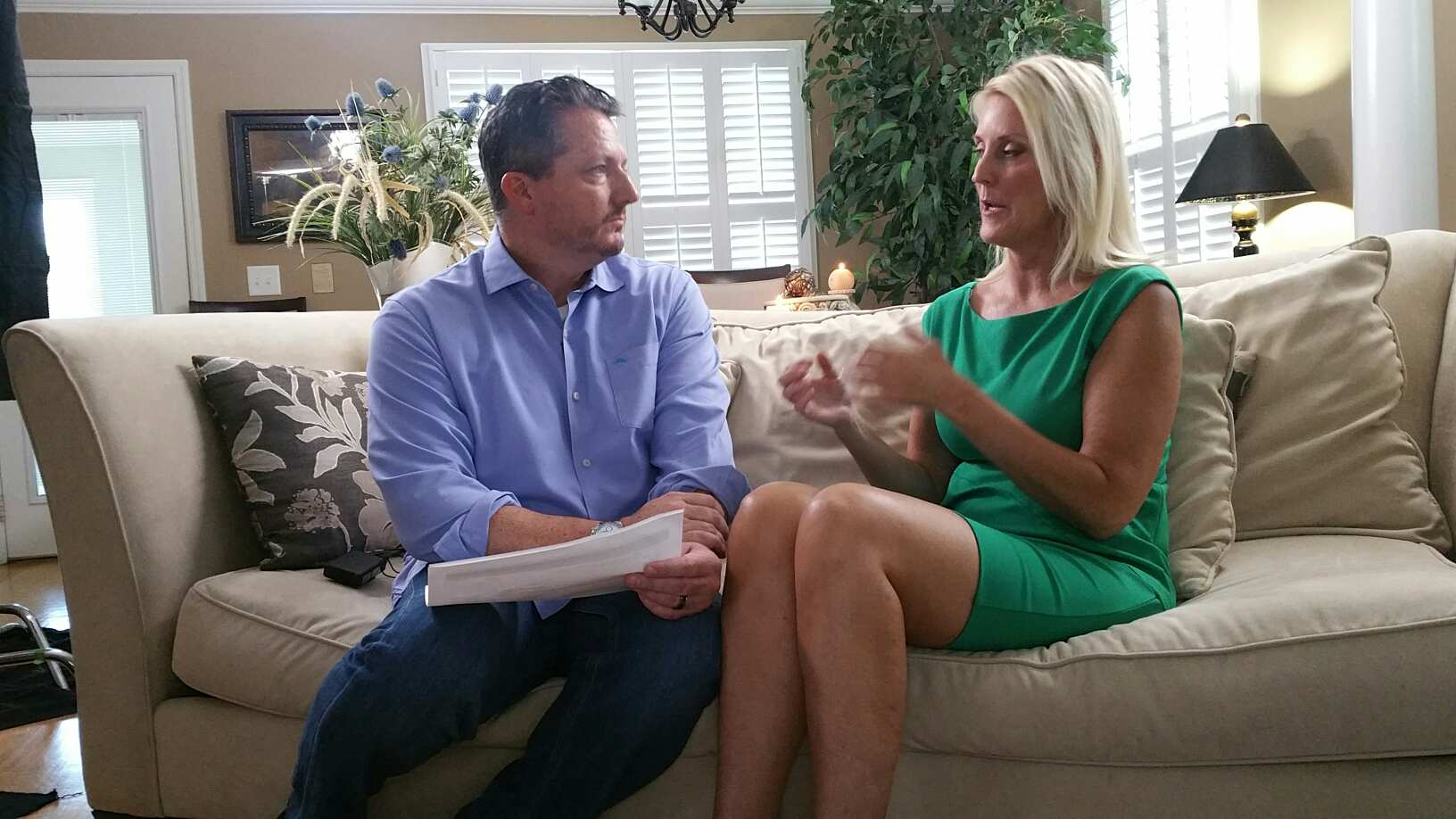 Host, Dr. Ben Barton interviewing me for The Truth About ADHD Video Documentary Series