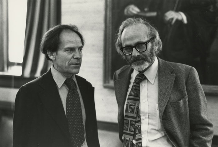 Drs. Wiesel and Hubel in 1981.