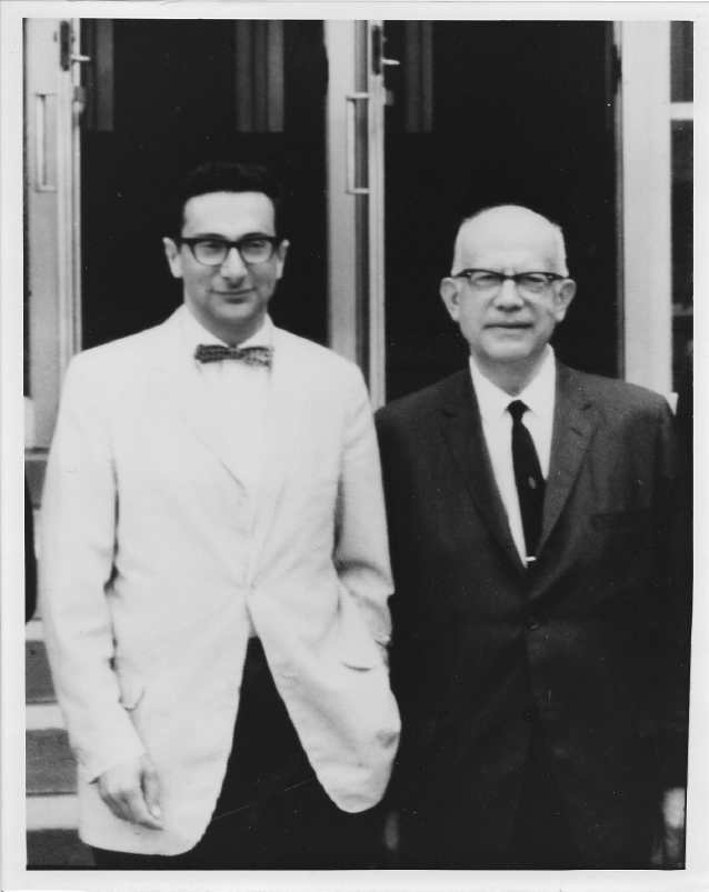 Noel Rose (left) and Ernest Witebsky (right)