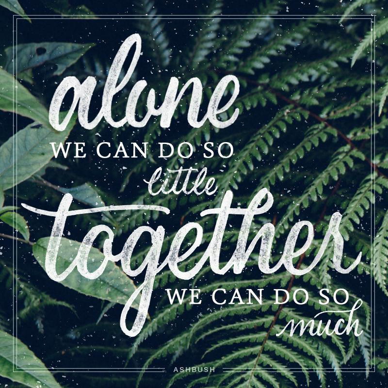 Alone vs Together - Ashley Bush