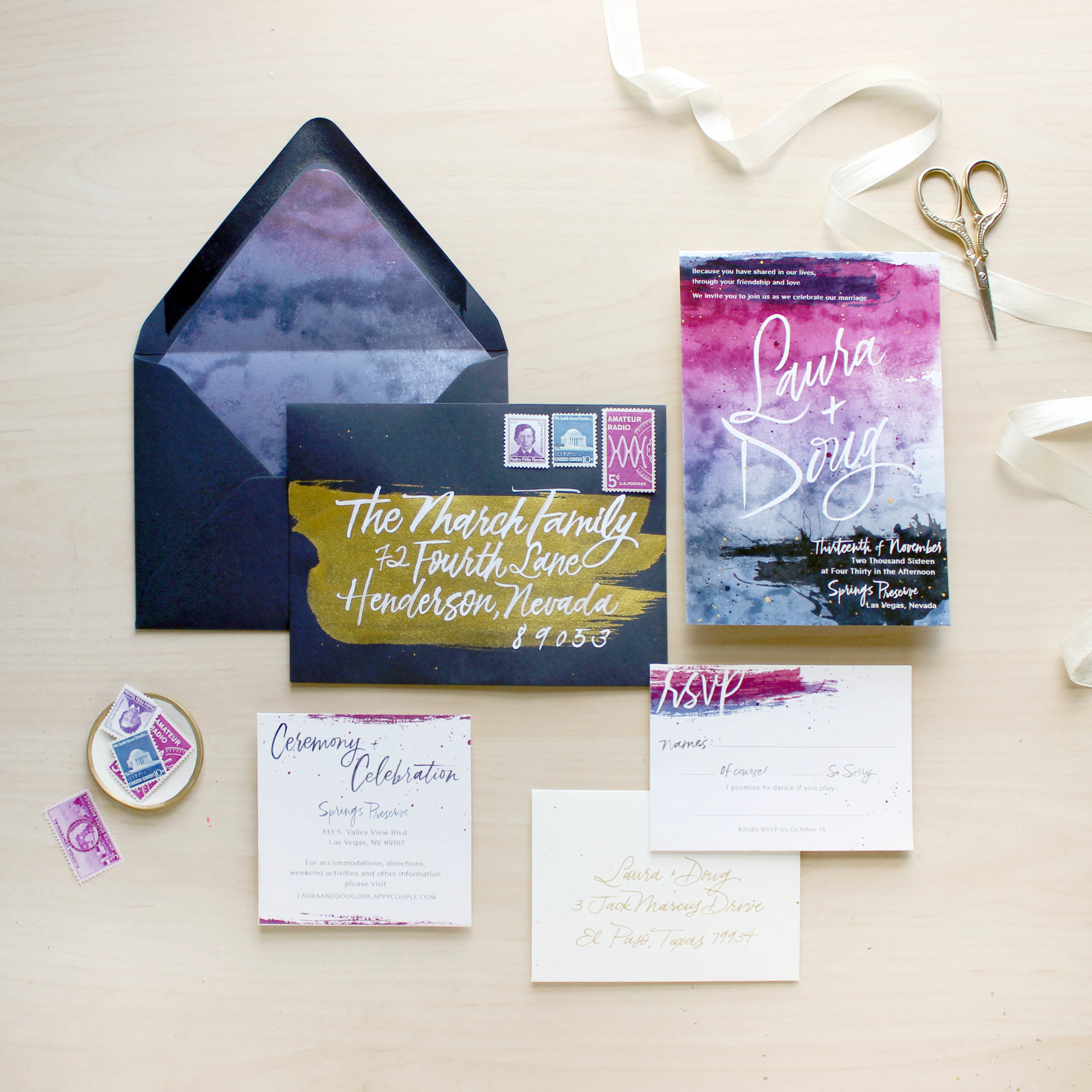 4 Tips on Choosing your Wedding Stationery: Establish Your Style. Read more at ashbush.com