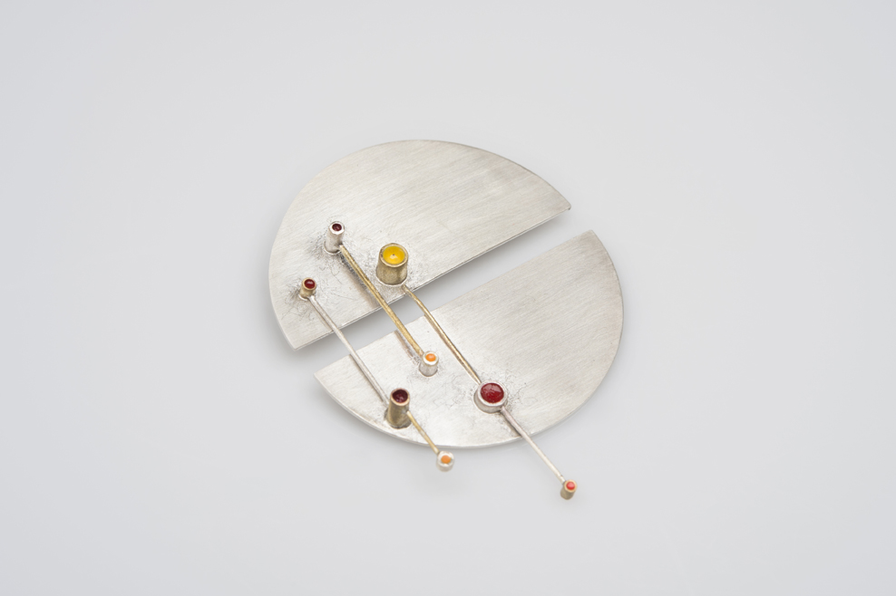 Twombly Brooch