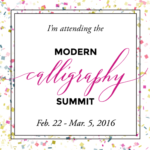Yennygrams at the Modern Calligraphy Summit