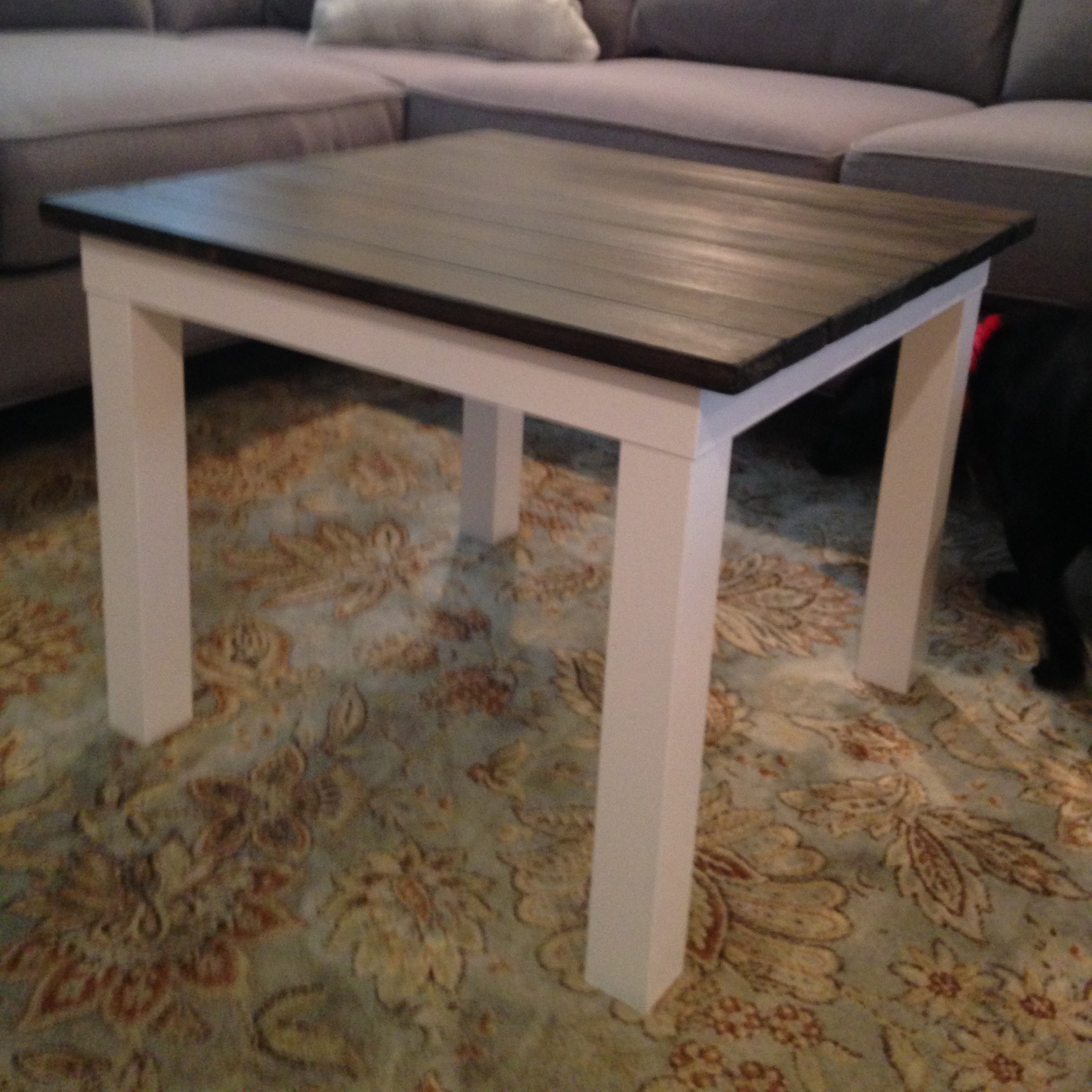 Finished Table - DIYennygrams