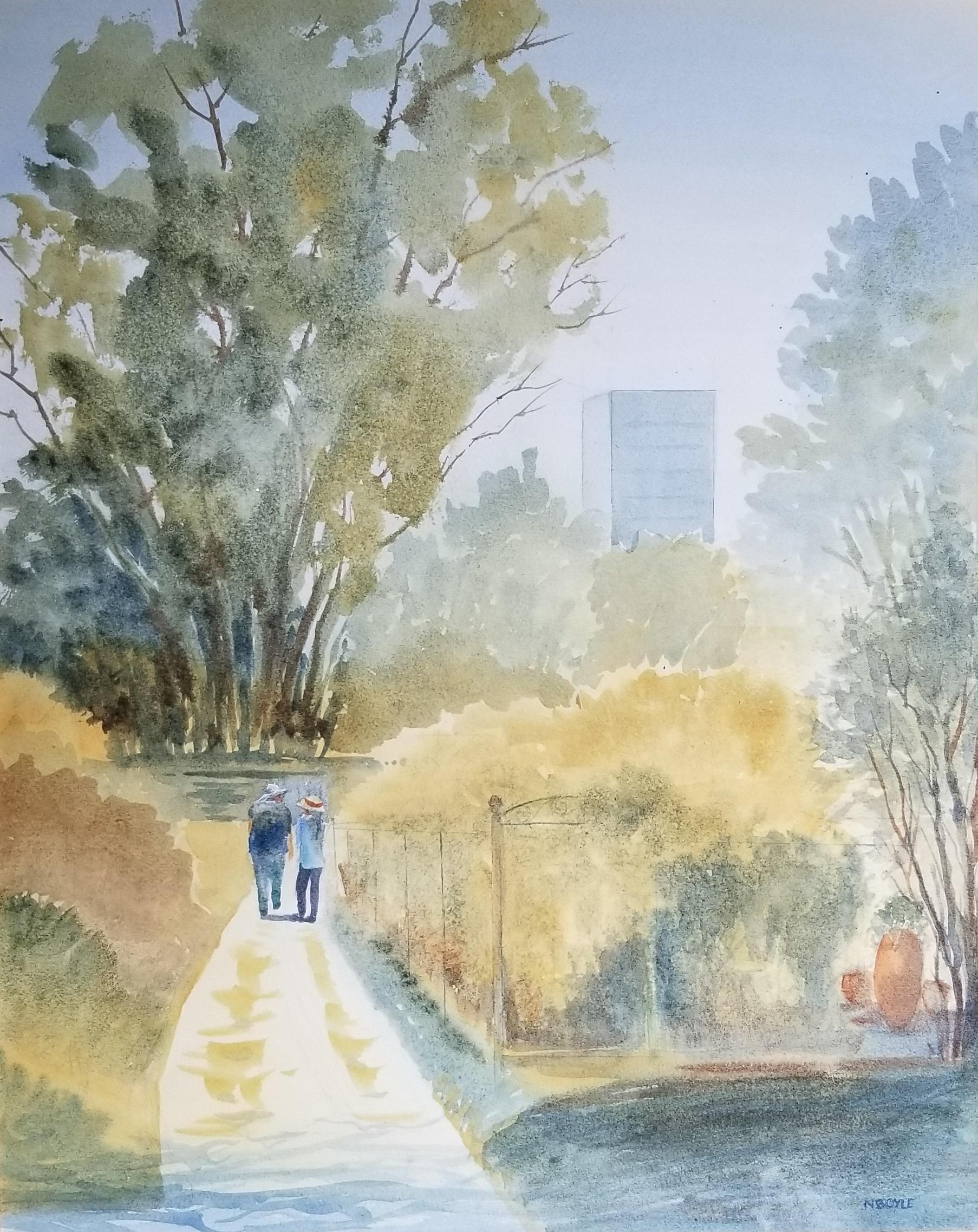 Fenway gardens-watercolor-16x20 by Nancy Boyle.jpg