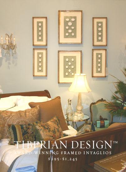 Framed Intaglios Project No. 1  1  Top Intaglios (California Homes)