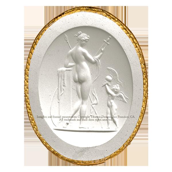 Tiberian Intaglio No.5  Venus Victrix..