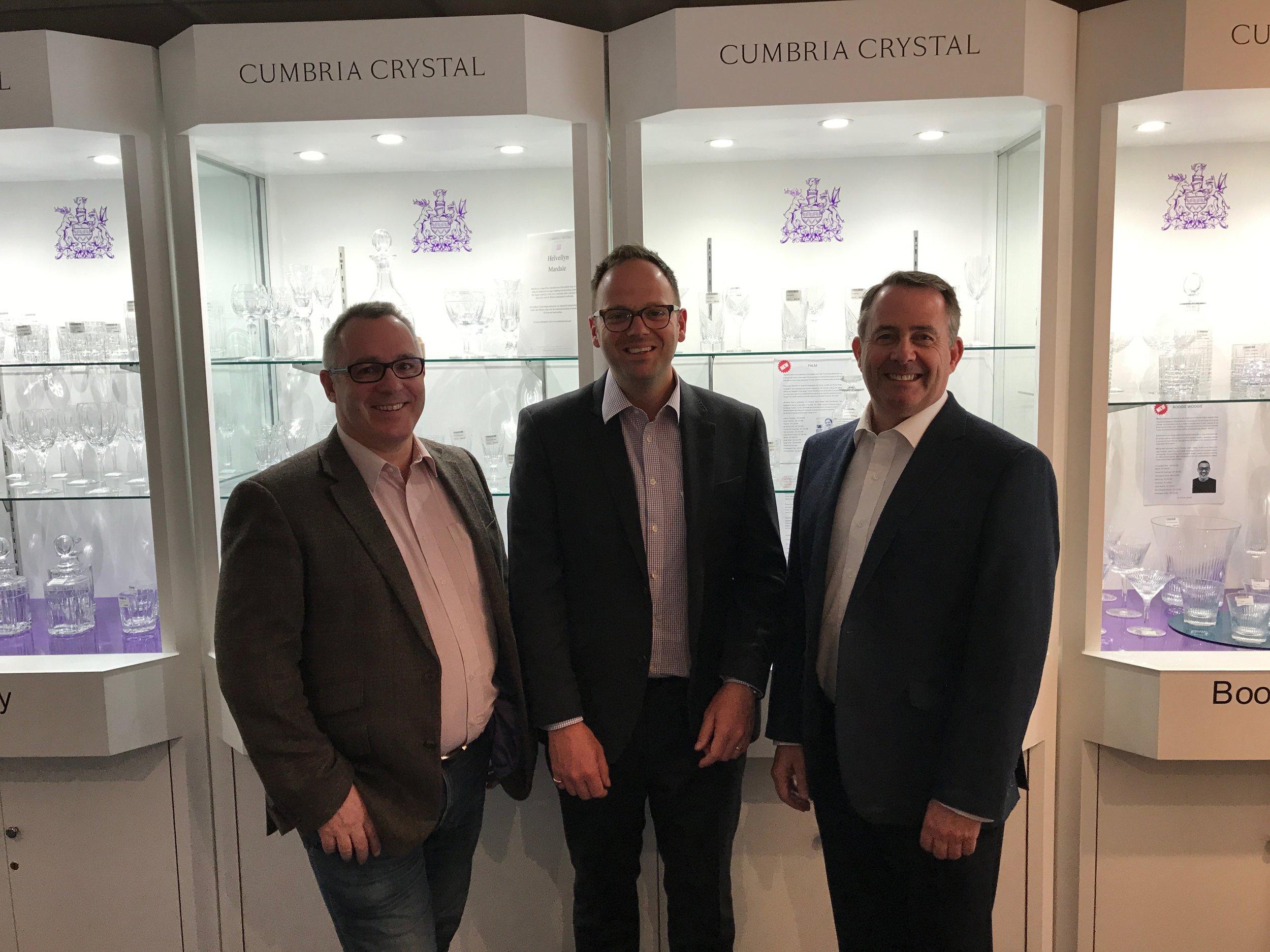 At Cumbria Crystal.