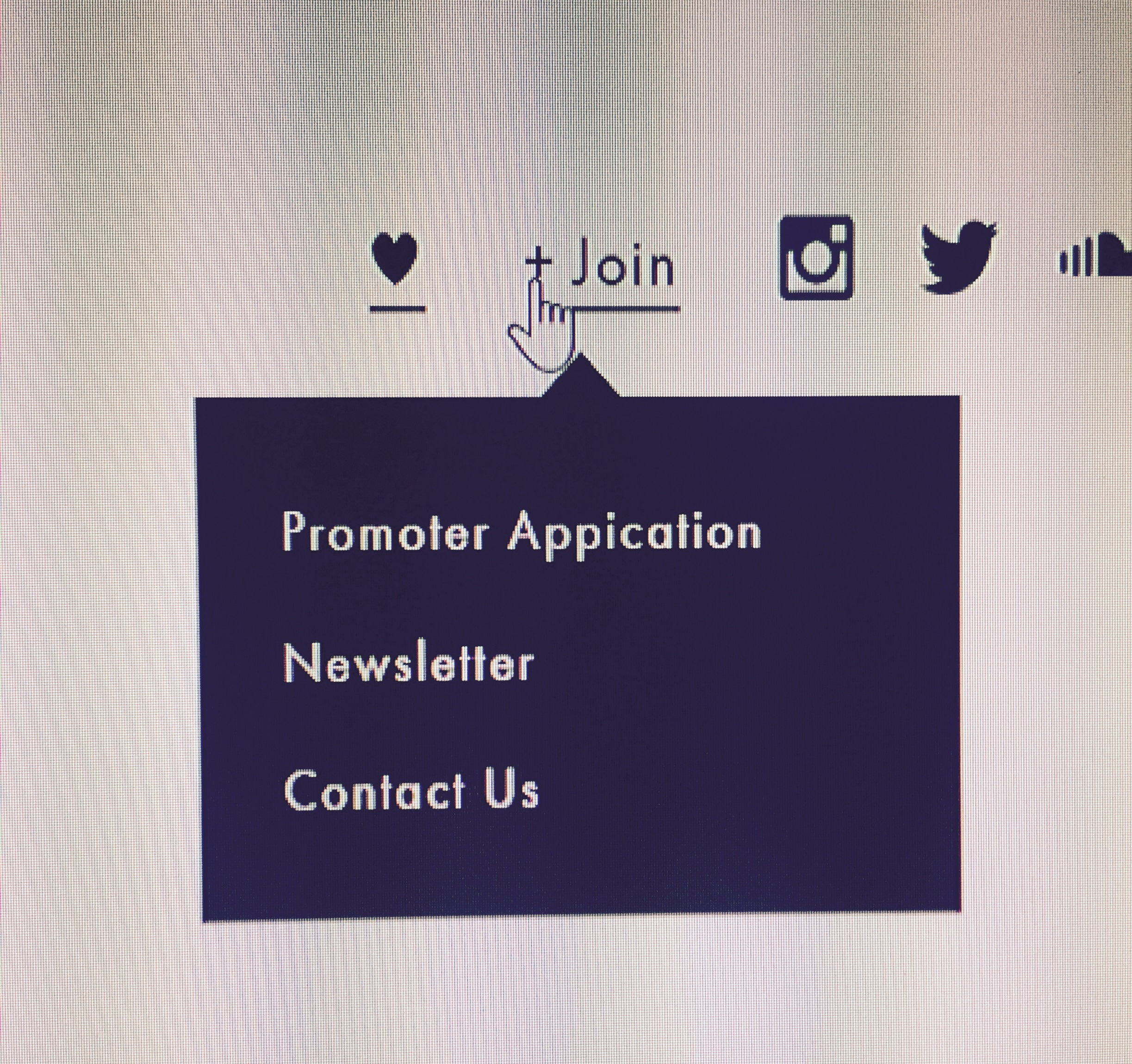 Click: Promoter Application
