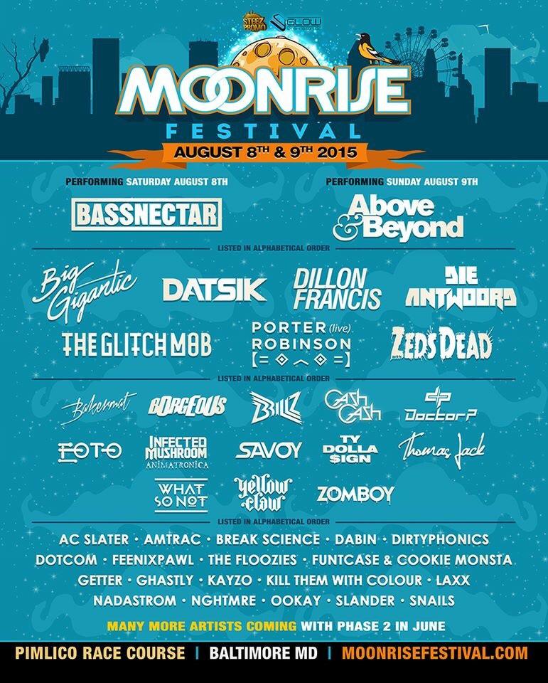 Moonrise Festival: Phase 1