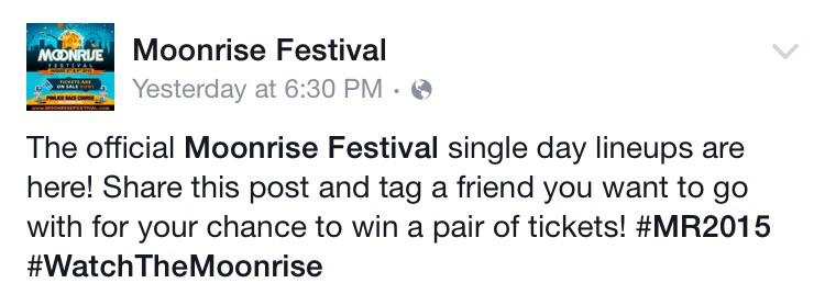 Moonrise Facebook Page