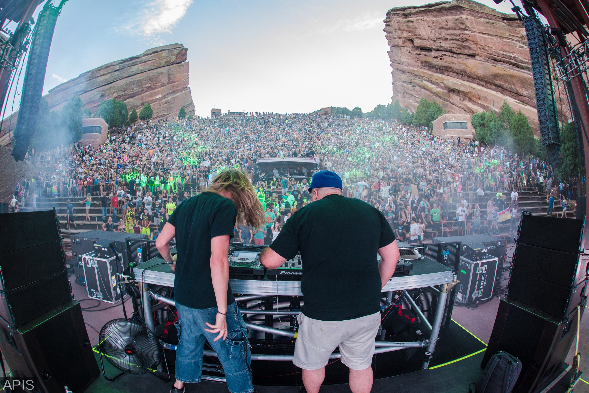 Pegboard Nerds at Red Rocks