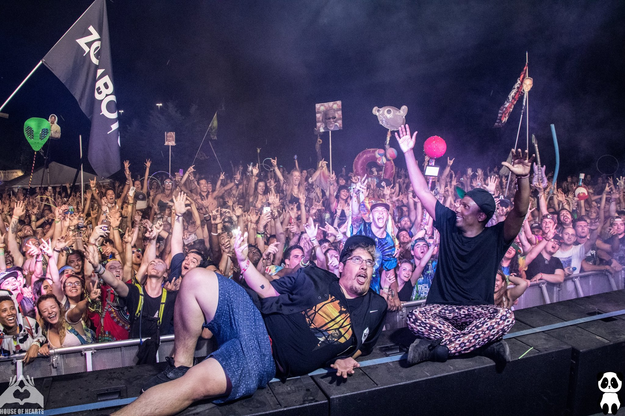 Camp Bisco 2016 - Photo by Zack Bruzgo of Panda Media