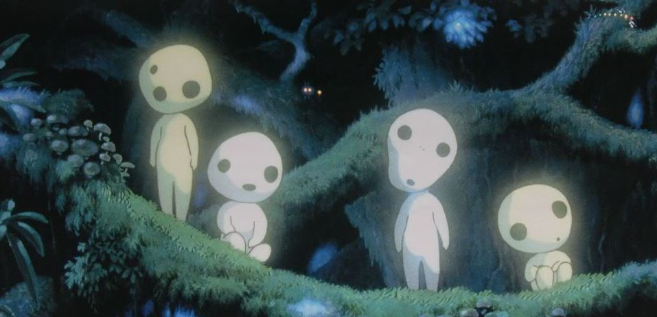 Forest Spirits from Princess Mononoke by Studio Ghibli