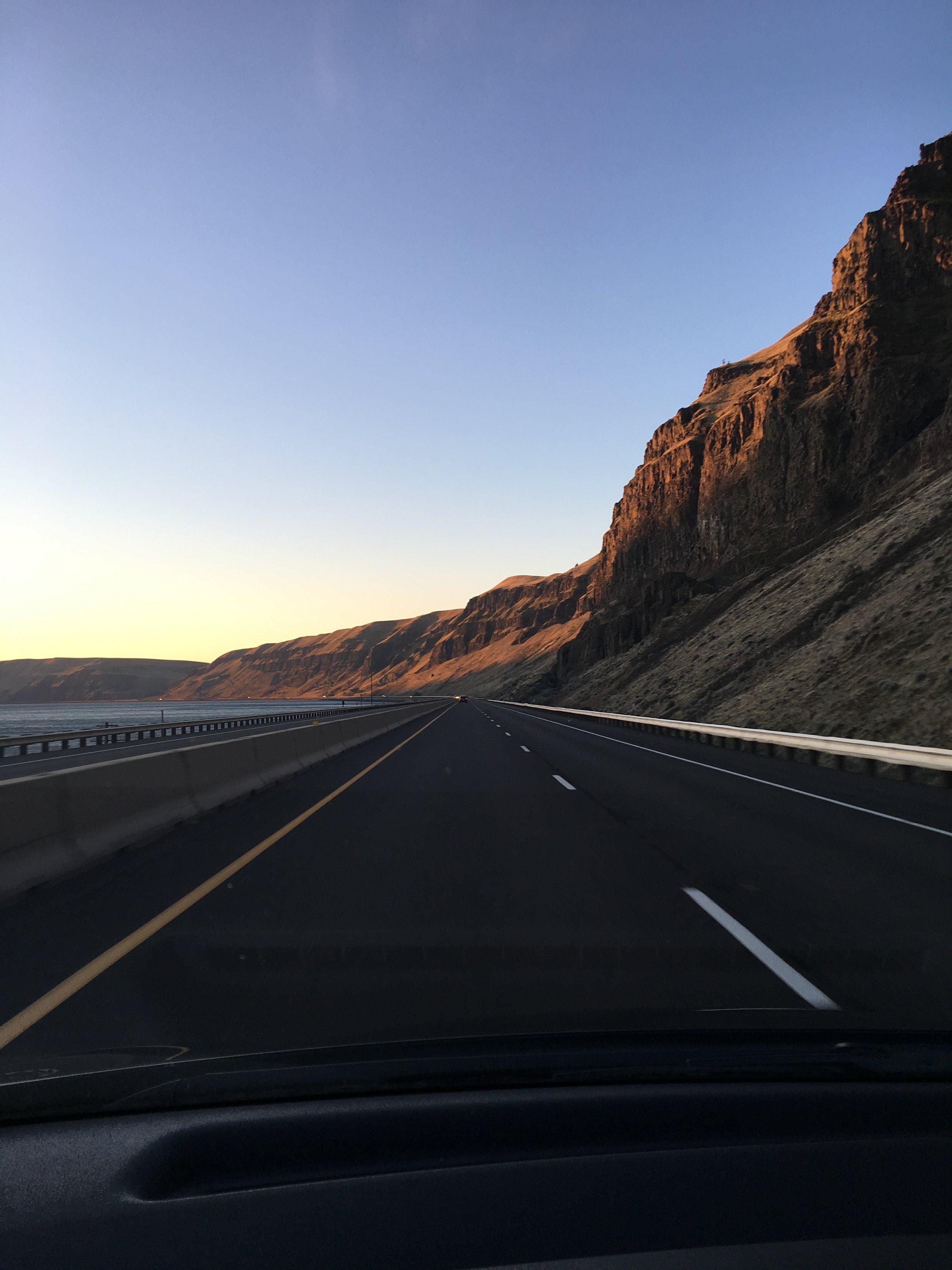 Canyon on my way to Phoenix, AZ
